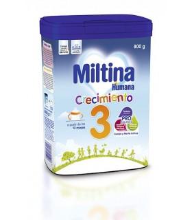 MILTINA 3 800 G Crecimiento y Leches infantiles -