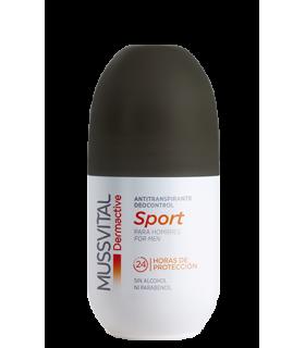 MUSSVITAL DERMACTIVE DEO SPORT HOMBRES ROLL-ON 7 Desodorantes y Higiene Corporal -