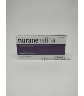 NURANE RETINA 30 CAPS Vitaminas ojos y Salud ocular - SALVAT