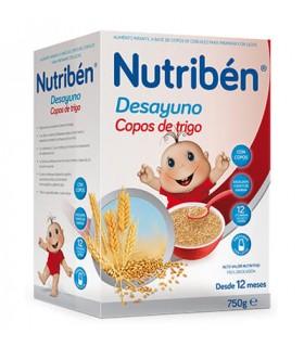 NUTRIBEN DESAYUNO COPOS DE TRIGO 750 G Papillas y galletas y Alimentacion del bebe - ALTER FCIA