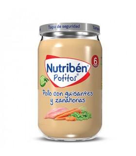 NUTRIBEN POLLO GUISA ZANA 235G Potitos y Alimentacion del bebe -