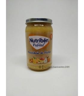 NUTRIBEN POTITO MACEDONIA FRUTAS 235 Potitos y Alimentacion del bebe -