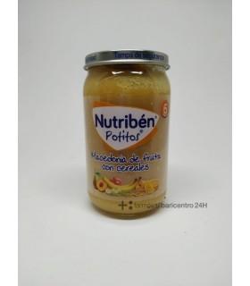 NUTRIBEN POTITO MACEDONIA FRUTAS CEREALES 235 Potitos y Alimentacion del bebe -