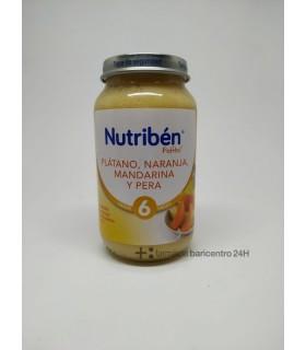 NUTRIBEN POTITO PLATANO NARANJA MANDARI PERA 235 Potitos y Alimentacion del bebe -