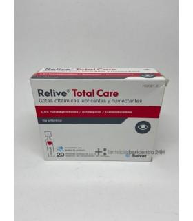 RELIVE TOTAL CARE GTS 0,4 20 U Sequedad y ojos cansados y Salud ocular - SALVAT