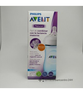 AVENT BIBERON PP NATURAL PHILIPS 260 ML AZUL Inicio y  -