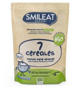 SMILEAT 7 CEREALES ECO 200 G Bebé y mamá y Inicio -