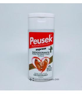 PEUSEK EXPRESS DESODORANTE PIES Y CALZADO POLVO 40 G Desodorantes y Cuidado Pies - PEUSEK