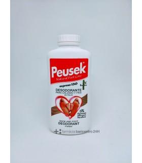PEUSEK EXPRESS DESODORANTE POLVO PIES Y CALZADO 150 G Desodorantes y Cuidado Pies -