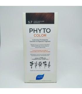 PHYTO COLOR Nº 5.7 CASTAÑO MARRON Tintes y Higiene Capilar - PHYTO