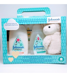 JOHNSONS COTTON TOUCH ACK EL PRIMER BAÑO Inicio y  - JOHNSON AND JOHNSON