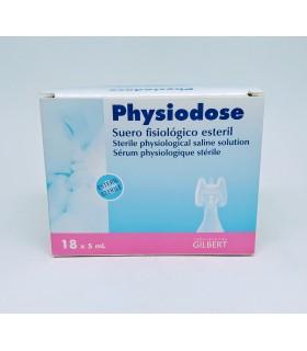 PHYSIODOSE SUERO FISIOLÓGICO ESTÉRIL MONODOSIS 18 AMPOLLAS Inicio y  -