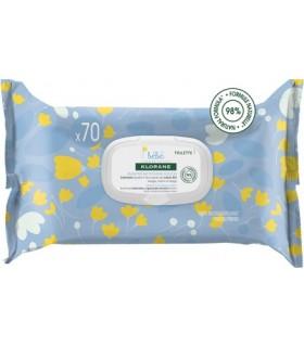 KLORANE BEBE TOALLITAS LIMPIADORAS SUAVES Pañales y toallitas y Cuidado del bebe - KLORANE