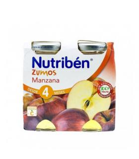 NUTRIBEN ZUMO MANZANA 2X130 Alimentacion del bebe y Bebé y mamá - NUTRIBEN