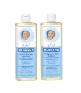 KLORANE BEBE GEL 500 ML DUPLO Higiene bebé y Cuidado del bebe - KLORANE