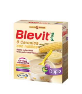 BLEVIT PLUS DUPLO 8 CEREALES CON NATILLAS 600 G Papillas y galletas y Alimentacion del bebe - BLEMIL Y BLEVIT