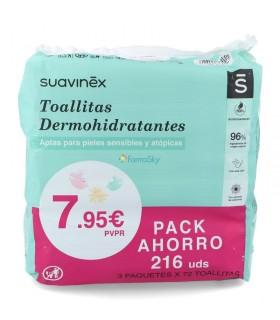 SUAVINEX TOALLITAS PACK AHORRO 3 UNDIDADES Pañales y toallitas y Cuidado del bebe - HEEL