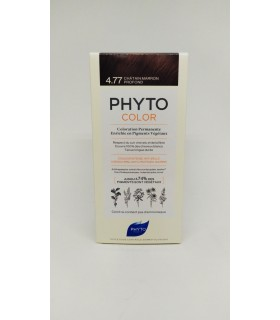 PHYTO COLOR TINTE N 4.77 CASTAÑO MARRON INTENSO Tintes y Higiene Capilar -