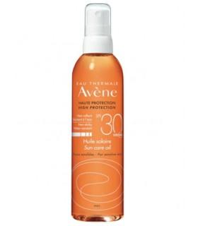 AVENE SOLAR ACEITE SPF 30 200 ML Higiene y Inicio - Avene