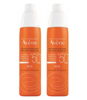 AVENE SOLAR SPRAY SPF 50 + DUPLO Inicio y  - Avene