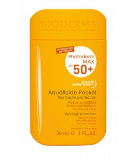 BIODERMA PHOTODERM POCKET SPF50+ AQUAFLUIDO 30ML Proteccion facial y Solar facial - BIODERMA