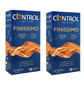 CONTROL FINISSIMO PRESERVATIVOS DUPLO Preservativos y Salud Sexual - CONTROL