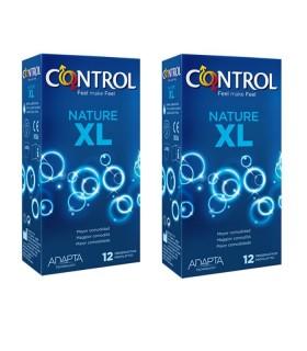 CONTROL NATURE XL MEGA AHORRO DUPLO Preservativos y Salud Sexual -