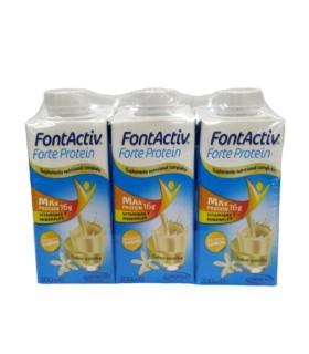 FONTACTIV FORTE PROTEIN PACK 3 VAINILLA 200 ML Dietetica y Inicio - ENSURE
