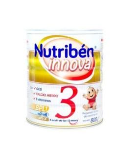 NUTRIBEN INNOVA 3 800G Crecimiento y Leches infantiles - NUTRIBEN