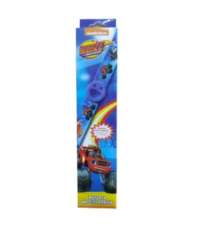 PULSERA ANTIMOSQUITOS BLAZE MONSTER MACHINE AZUL Inicio y  -