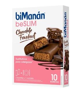 BIMANAN SUSTITUTIVE BARRITAS CHOCOLATE FONDANT 8UDS Control de Peso y Dietetica - BIMANAN
