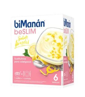 BIMANAN BESLIM NATILLAS LIMON 6 SOBRES Dietetica y Inicio - BIMANAN