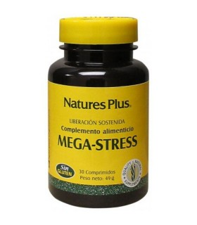 NATURES PLUS MEGA-STRESS 30 COMP