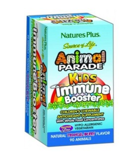 NATURE'S PLUS ANIMAL PARADE IMMUNE BOOSTER 90 COMPRIMIDOS MASTICABLES