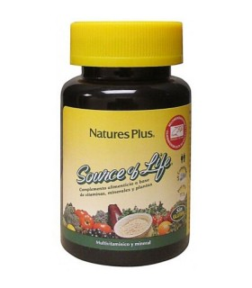 NATURES PLUS SOURCE OF LIFE 60 COMPRIMIDOS