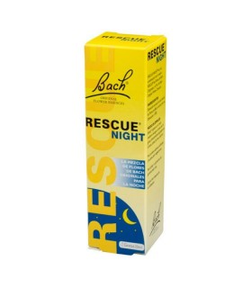 FLORES BACH RESCUE REMEDY NIGHT 20 ML Ansiedad y Sistema nervioso - BACH RESCUE