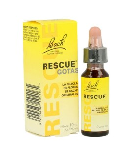BACH RESCUE REMEDY GOTAS 10ML Ansiedad y Sistema nervioso - BACH RESCUE