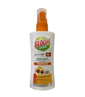 BLOOM DERM TROPICAL REPELENTE DE MOSQUITOS 100 ML Inicio y  -