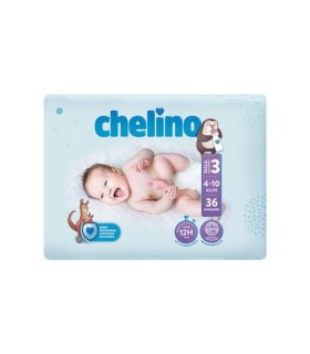 CHELINO FASHION LOVE PAÑAL TALLA 3 (4-10KG)