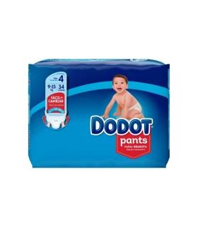 DODOT PANTS TALLA 4 9-15 KG 34UNIDADES Inicio y  - DODOT