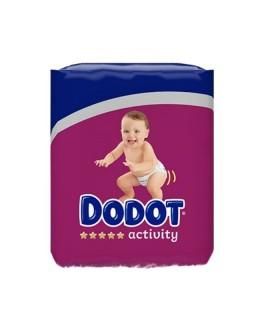 DODOT ACTIVITY T4 (9-14 KG) 48 UNIDADES Pañales y toallitas y Cuidado del bebe - DODOT