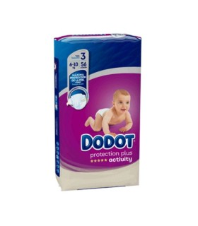 DODOT ACTIVITY T3 (5-10 KG) 56 UNIDADES Bebé y mamá y Inicio - DODOT