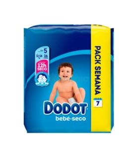 DODOT PAÑAL BEBE SECO TALLA 5 (13- 18 KG) Pañales y toallitas y Cuidado del bebe - DODOT