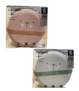 SUAVINEX SET PLATOS COMBINABLES BENTOO +4M- Vajilla Infantil y Accesorios del bebe