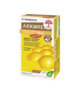 ARKOPHARMA JALEA REAL VITAMINADA 20 AMPOLLAS Farmacia en Casa y Inicio - ARKOPHARMA
