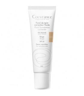 AVENE COUVRANCE MAQUILLAJE FLUIDO SPF 20 30 ML B Base Maquillaje y Maquillaje - Avene