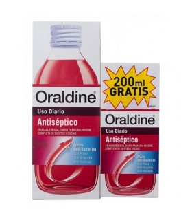 ORALDINE COLUTORIO 400 ML + REGALO 200 ML