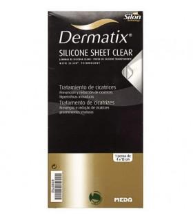 DERMATIX SILICON CLEAR 1 LAMINA 4 X 13 CM