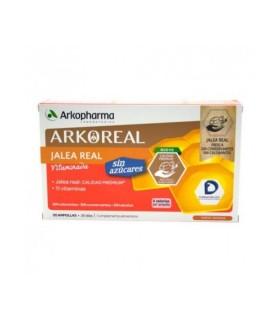 ARKOPHARMA JALEA REAL 1000 MG SIN AZUCAR 20 AMP Jaleas y Vitaminas - ARKOPHARMA