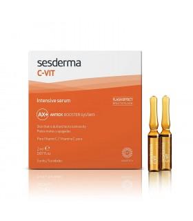 SESDERMA C VIT INTENSIVE SERUM 5 AMPOLLAS 2 ML. Cosmetica facial y Inicio - SESDERMA